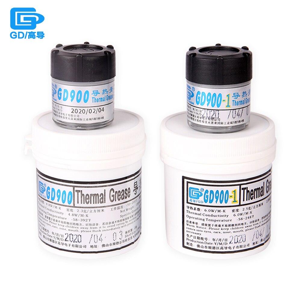 Теплопроводящая смазка GD900, силиконовая паста, высокоэффективный теплоотводящий состав для ЦП CN30/CN150 4,8/6 Вт/м-K
