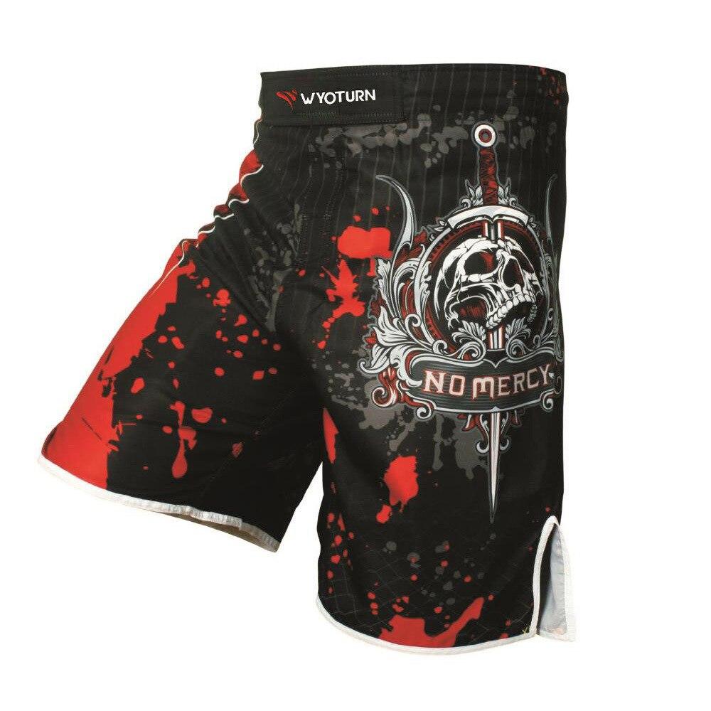 MMA Short Shorts Boxers Boxing Martial Arts Sanda Training Pants UFC Sports Fitness Running Casual Shorts Men's