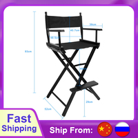Artist Director Chair Foldable Outdoor Furniture Lightweight Photography accessories Portable Folding Director Makeup Chair