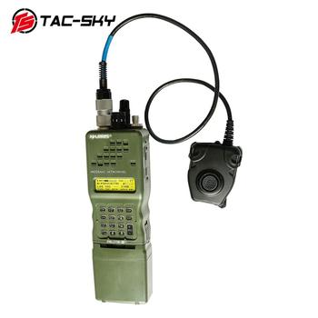 TAC-SKY AN / PRC 152 152a military walkie-talkie model radio military Harris virtual case+military headset ptt 6 pin PELTOR PTT гравер military me3 6