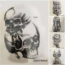 Kupuj Online Tanie Czaszka Tatuaż Wzory Aliexpresscom
