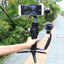 Expansion-Bracket-Holder Video-Light Gimbal Zhiyun L-Shaped 4-Microphone Handheld 2-Mounts