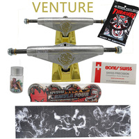 Venture-ruedas para monopatín spitfire, cinta de agarre para monopatín grizzly, conjunto completo de buena calidad