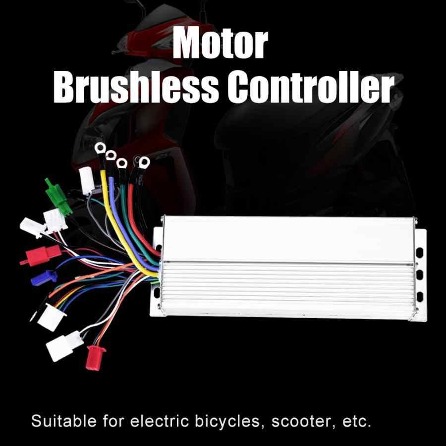 Controlador sem escova do acessório do motor do trotinette das peças do trotinette do e-bike 36 v/48 v 1500 w para o trotinette bonde da bicicleta