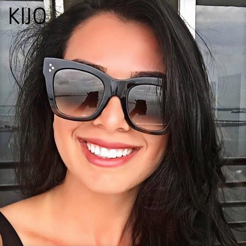 Elven Street Brand Design Classic Sunglasses For Women Men driving square Frame Sun Glasses Eye Glasses UV400 Sun Glasses