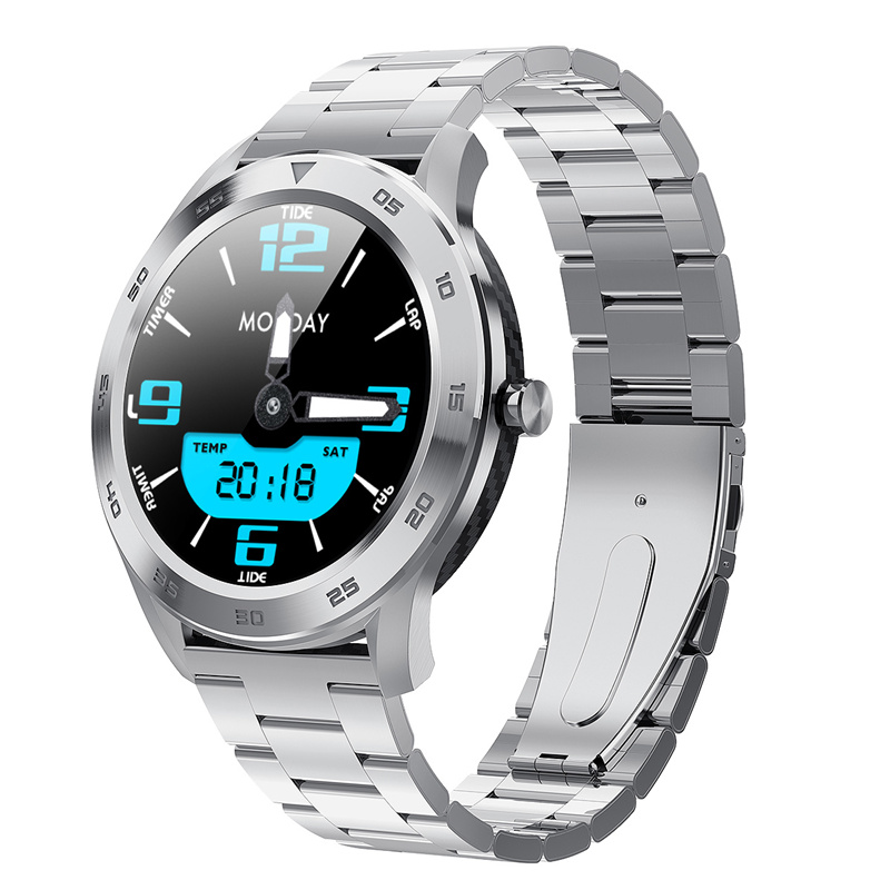 DTNO.I <font><b>No</b></font>.<font><b>1</b></font> DT98 Smart Watch IP68 Waterproof <font><b>1</b></font>.3 Full Round HD Screen ECG Detection Changeable Dials <font><b>Smartwatch</b></font> Fitness Tracker image