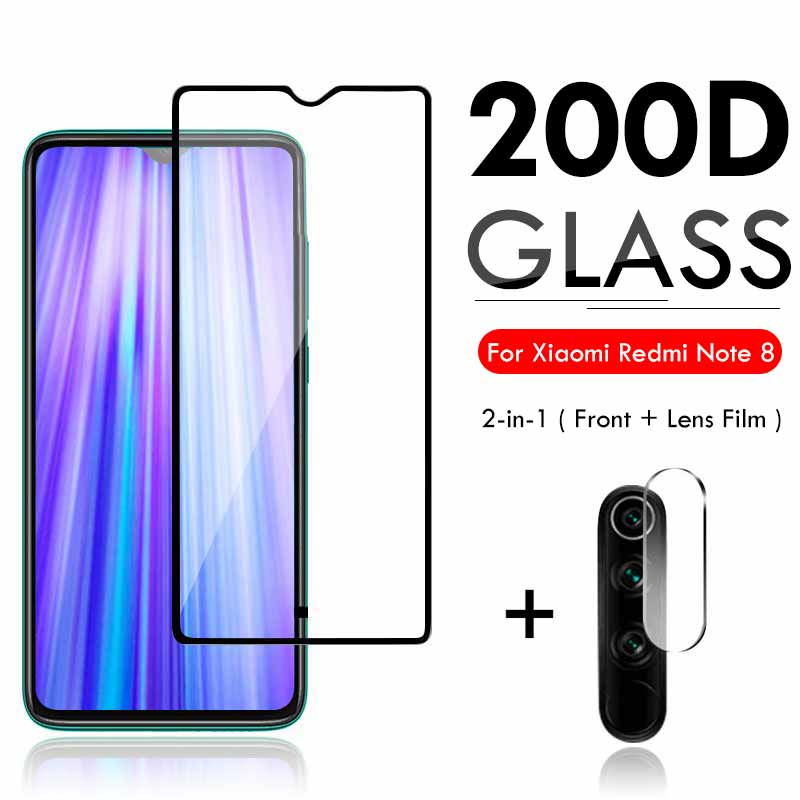2 In 1 Protective Glass For Xiaomi Redmi K20 Pro Note 7 5 Case Camera Lens Protector On For Xiomi Redmi 7 6  Tempered Glass