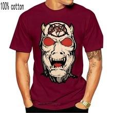 Редкая винтажная двухсторонняя футболка с изображением рассекающего из крови