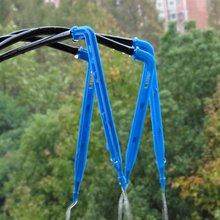 Парниковый капельный ороситель 4-полосная капельная стрелка 2-полосная передатчик для полива и орошения Системы горшечные растения с парниковых люкс