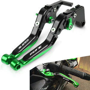 FOR KAWASAKI Z650 Z 650 2016 2017 2018 Motorcycle Adjustable foldable Levers Brake Clutch Levers Handlebar Hand Grips end NINJA