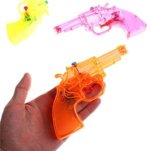 Прозрачный водяной пистолет-распылитель, мини-летний детский спортивный пляжный детский игрушечный пистолет, летние игрушки для улицы