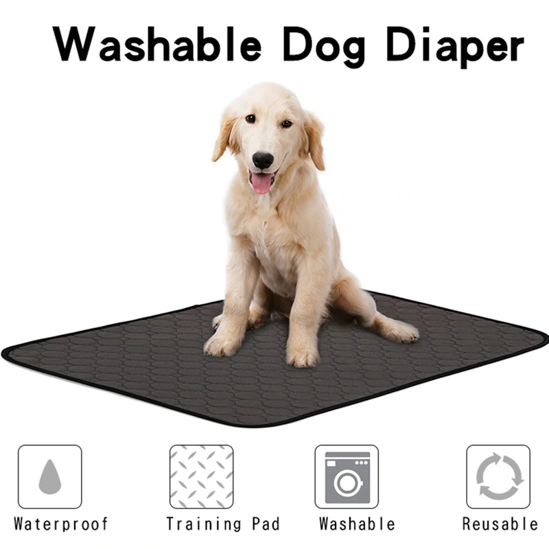 Dog Urine Pad Absorbent Pad Training Dog Pet Diaper Waterproof Washable Diaper Green Dog Bunny Diaper
