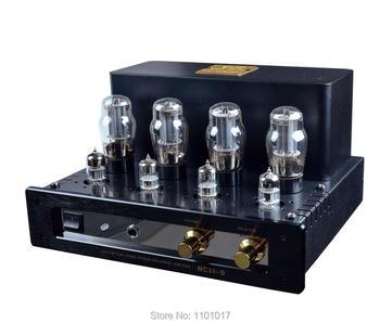 MeiXing MingDa MC34-B толкающая трубка усилитель HIFI EXQUIS вакуумная лампа Интегрированный усилитель с выходом для наушников