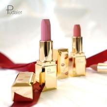 Pudaier Moisturizing Vitamin Lipstick Sexy Red Lip Matte Make Up Beauty Cosmetic 24 Colors