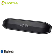 HYASIA Wireless Bluetooth Speaker Computer Mini Portable Small Stereo Car Subwoofer Support TF Alarm Clock Soundbar Bluetooth4.2 wireless bluetooth speaker sc208 computer mini dual speaker portable small stereo car subwoofer support tf card usb disk