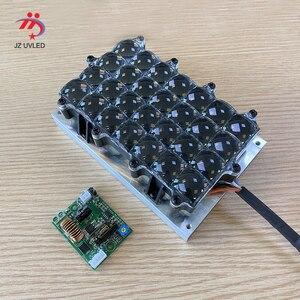 80W High Power 405nm UV równoległe źródło światła dla STEK 3D LCD 5.5/6/8.9 cala 3D drukarki światłoczułe żywica utwardzania LED X-CUBE
