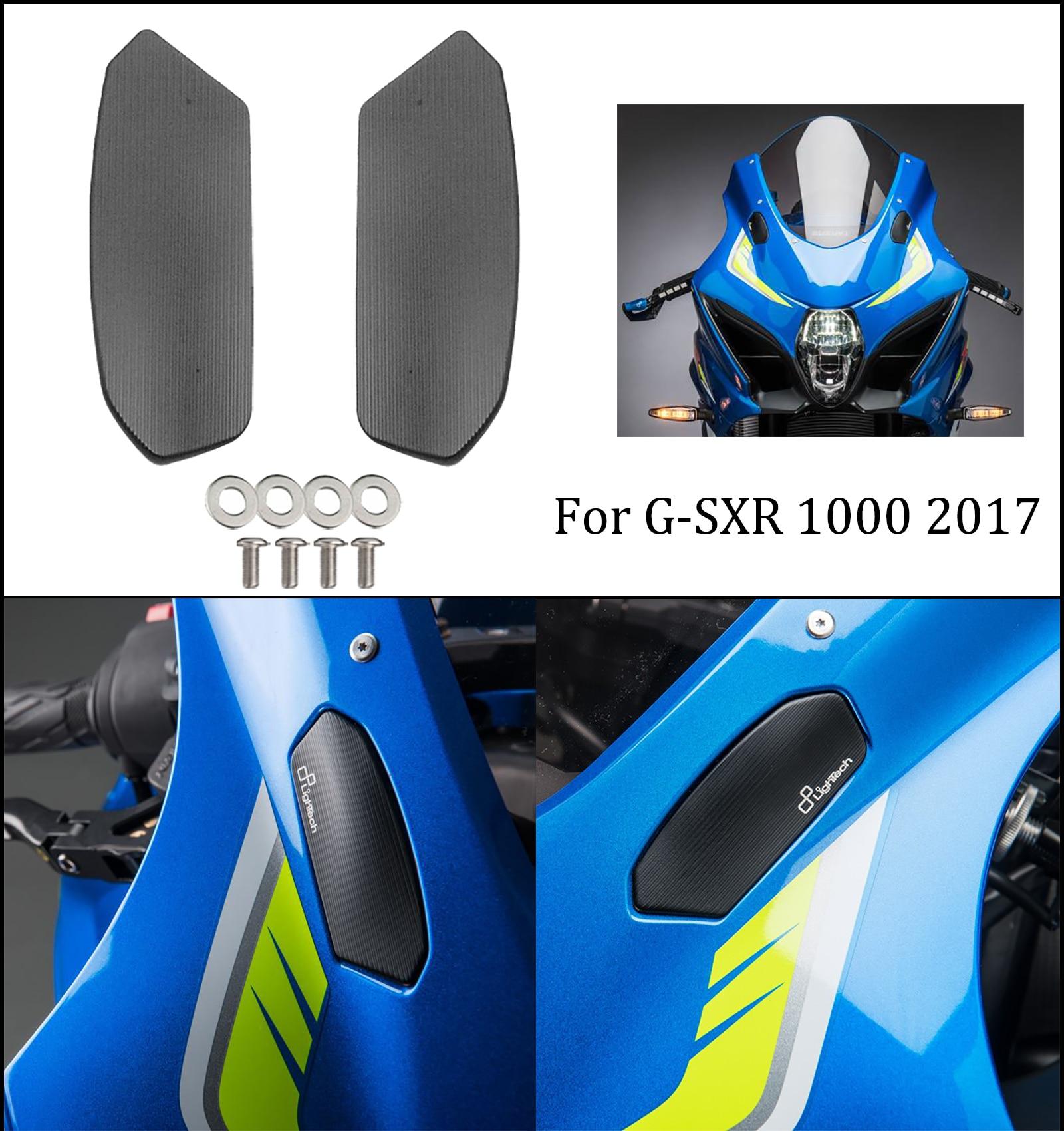 Mtkracing зеркалом заднего вида шасси декоративный зеркальный код для suzuki GSX-R GSXR 1000 GSXR1000 2017 база зеркальный декоративный блок