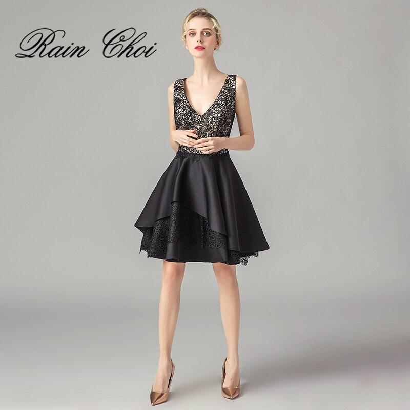 Short Cocktail Dresses 2019 A Line Women Formal Party GownS