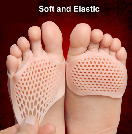 Silicone Honeycomb Forefoot Insoles Shoes Pad Gel Insoles Breathable Health Care Shoe Insole Shoes Insoles For Women Xd02