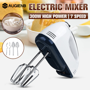 Manual Mini 7 Speed Dough Hand Mixer Food-Blender Multifunctional Handheld Food Processor Automatic Electric Kitchen Mixer Tool