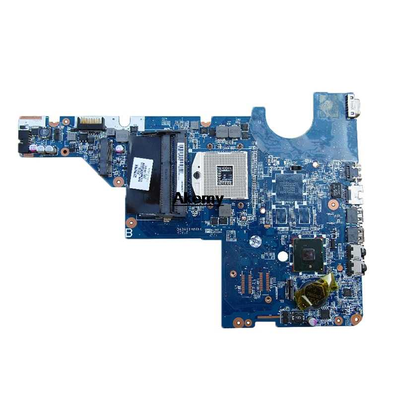CQ42 لوحة رئيسية لأجهزة HP 595184-001 CQ62 G42 G62 اللوحة المحمول DDR3 HM55 GM شحن وحدة المعالجة المركزية