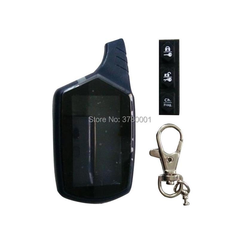 B9 Key Shell Keychain Body Case For Starline B9 B6 B91 B61 A91 A61 KGB FX-5 FX-7 FX-3 FX 3/5/7 FX3/5/7 Lcd Remote Car Alarm