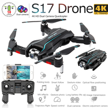 S17 Drone 4k HD Camera GPS Drone WiFi FPV 1080P No Signal Return RC Helicopter Flight 15 Minutes Quadcopter Drone with Camera
