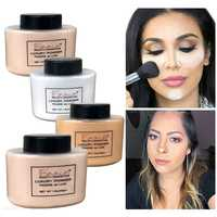 4 Colors Loose Powder Face Whitening Skin Finish Transparent Mineral Makeup Cosmetic Foundation Setting Powder