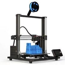 Anet A8 Plus E10 Большой размер Настольный FDM DIY 3D принтер набор Prusa i3 Impresora 3D Imprimante 3D простая сборка