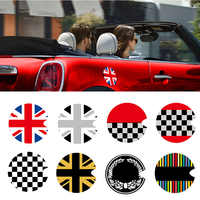 Gas Fuel Tank Cap Vinyl Cover Sticker Decals Decoration For Mini Cooper S One F55 F56 R55 R56 R60 R61 Car Styling Accessories
