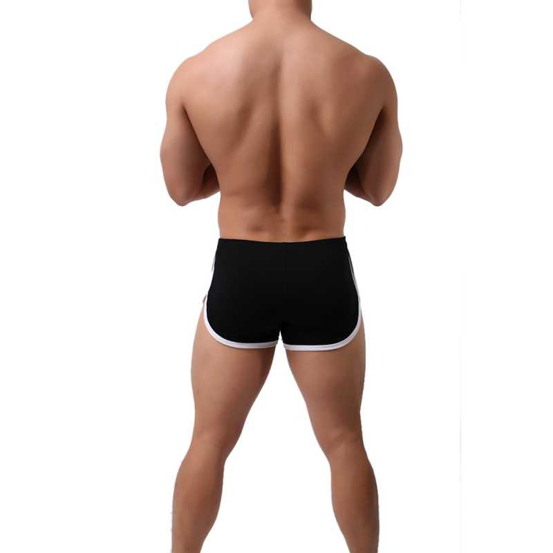 Pantalones cortos de verano para hombre, de secado rápido, de cintura baja, Color sólido, pantalones cortos informales para hombre, pantalones cortos de algodón para playa, pantalones cortos de tabla de Color, pantalones cortos de entrenamiento