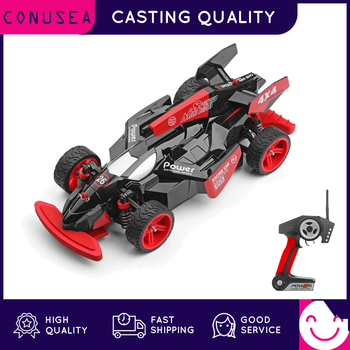CONUSEA RC Racing Car 4WD 1/18 Remote Control Car 2.4Ghz F1 High Speed Race Car Off Road RC Drift Car Vehicle Truck Toys for Kid