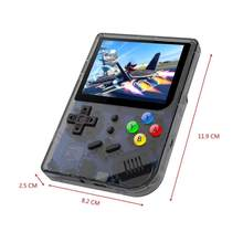 2020 3 Inch Video Game Console Mini Retro Game Pocket Hand-Held Game Player Game Console RG300 Retro Game Hand-held 16G Internal(China)