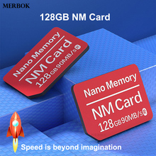 Buy 128GB NM Card Nano Memory Card 90MB/S For Huawei M20 M20X XS XR Mobile Phone Computer Dual-use USB3.0 High Speed NM-Card Reader directly from merchant!