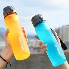 Bouteille d'eau de sport en plastique Tritan de 500ML, Portable, étanche, pour boisson directe, pour randonnée en plein air, articles de boisson, livraison gratuite