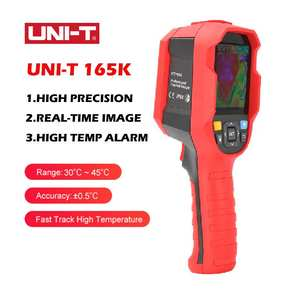 UNI-T 165K Hand-held Human Body Temperature Measurement Tool Infrared Thermal Imager Live Display&alarm