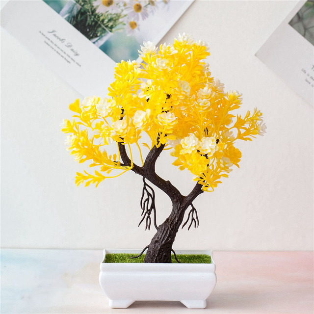 Artificial Potted Simulation Small Lotus Flowers Fake PU Water Lily DIY Home Garden Table Decoration Lotus Plant 4