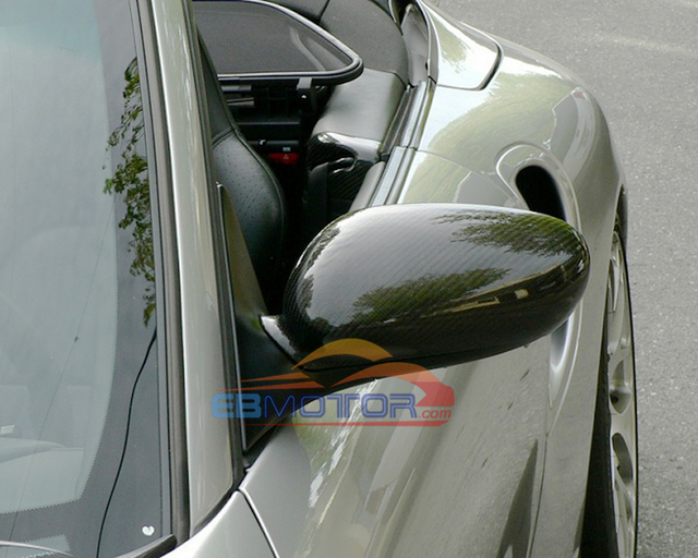 Real Carbon Fiber Mirror 1pair For Porsche 911 996 Boxster 986 1998-2004 T052M 1