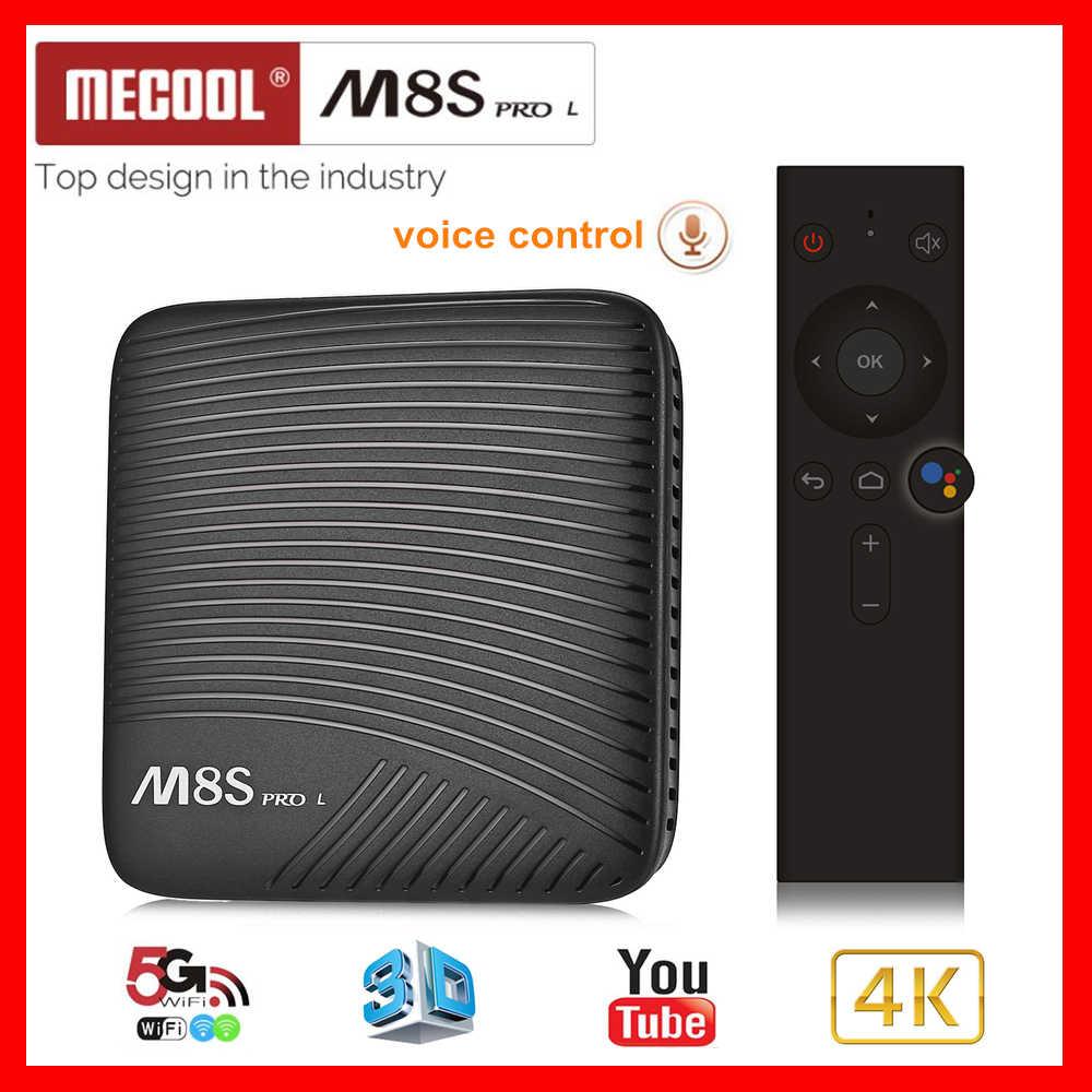 Mecool 2019 Neue TV BOX M8S PRO L 3 + 16G ATV Android 7.1 TVBOX Amlogic S912 Octa core 2,4 /5G Wifi Box Tv Set Top Box Mediaplayer