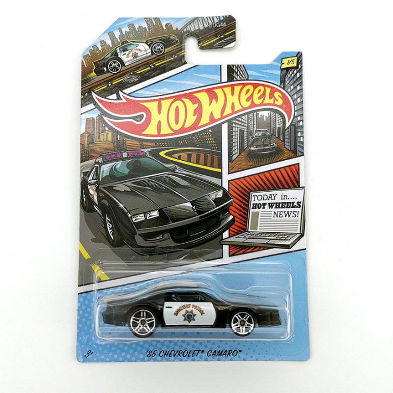 Hot Wheels Car 1:64 85 <font><b>CHEVROLET</b></font> CAMARO Collector Edition Metal Diecast Cars Collection Kids Toys Vehicle For Christmas Gift image