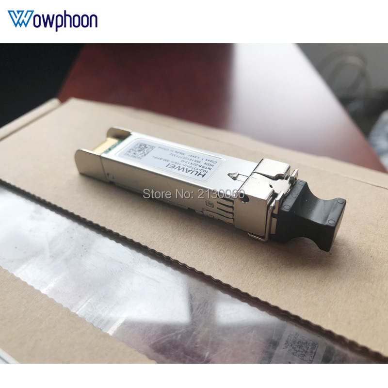Huawei 10G 10km LC Connector Gbic Single Mode Duplex Fiber SFP+ Module WDM/BIDI 10G 10KM A/B 1270/1330nm