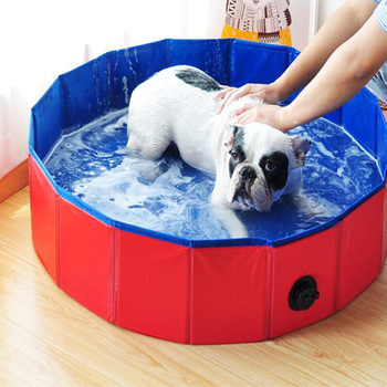 Foldable Padded Puppy Pool For Hot Summer Days  26