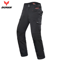 DUHAN Motorcycle Pants Men Motocross Slacks Motorbike Riding Trousers Pantalon Moto Racing Pants Protective Gear