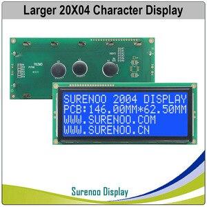 Image 3 - Grotere 204 20X4 2004 Karakter Lcd Module Display Screen Lcm Blauw Geel Groen Met Led Backlight