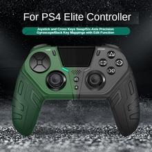 For PS4 Elite/Slim/Pro Elite Wireless Bluetooth Gamepad Joystick Modular Programmable Back Button Turbo Game Controller