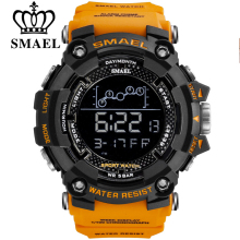 SMAEL Mens Watch Military Waterproof Sport Wrist Wa