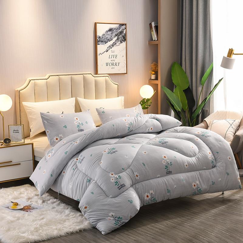 Very Warm Winter Thick Blanket Bedding Filler New Design Down Duvet 3d Print Quilt King Queen Twin Full Double Size Comforter