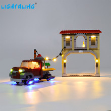 Lightaling Led Light Kit For Dorado Showdown Toy Building Blocks Compatible With 75972 ( Lighting Set Only ) lightaling led light set for famous brand 10182 15002 make