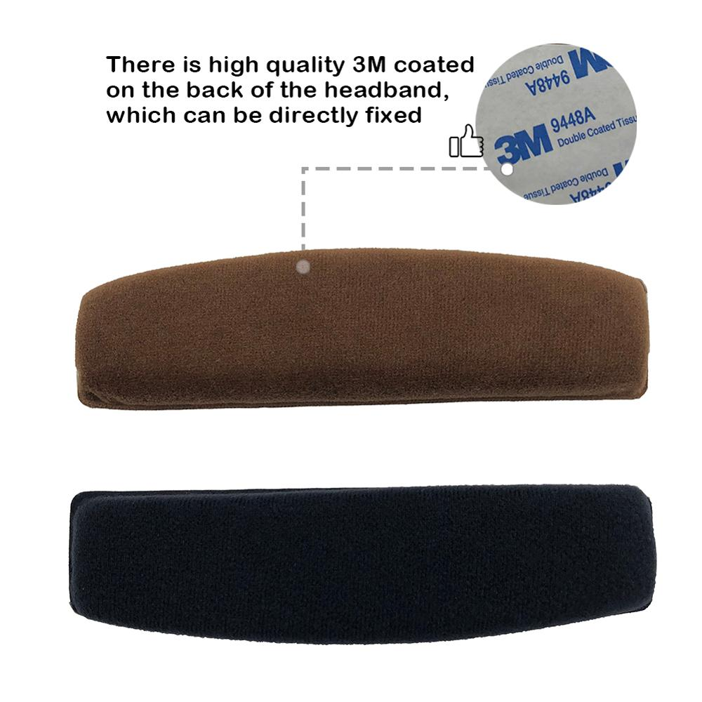 lowest price EarTlogis Velvet Replacement Parts for Sennheiser HD515 HD518 HD555 HD595 HD558 EarPads Bumper Headband Earmuff Cover Cushion
