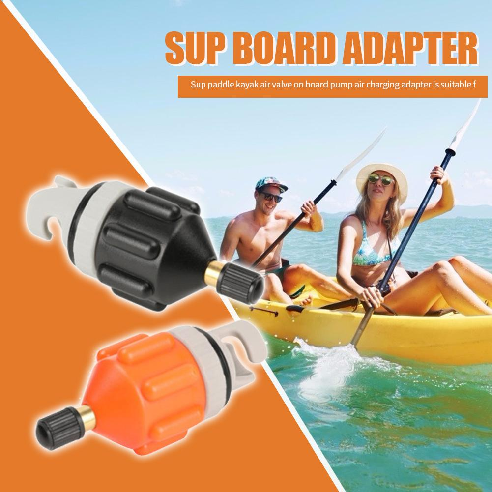 Gorąca sprzedaż Adapter zaworu powietrza umiejętne wytwarzanie łódź wiosłowa Adapter zaworu nylonowy kajak pompa nadmuchiwana Adapter do części kajak